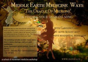 The Oracle Of Medicine   (& finding your shamans song) Prague @ Sammasati retreat centrum, Veselí 30, Zákupy