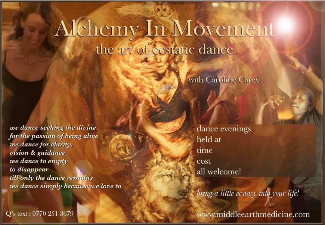 Alchemy In Movement - the art of ecstatic dance - eve @ Brighton Youth Center