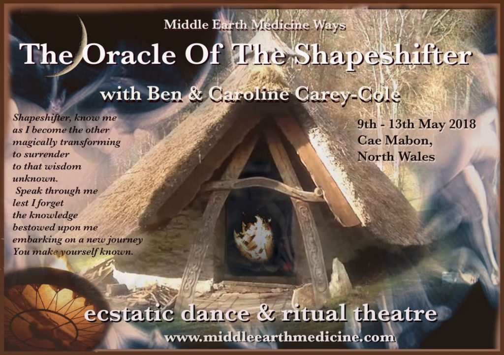 The Oracle Of The Shapeshifter @ Cae Mabon, Llanberis